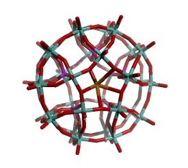 Preyssler's anion, [NaP5W30O110]14-