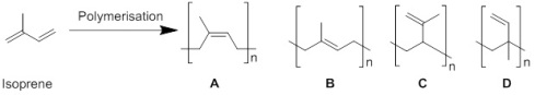 Fig. 3 Isoprene polmerisation