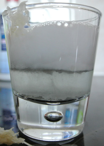 Storm in a shot glass.