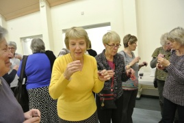 Wine tasting (part of the Acid Test) in Hampshire