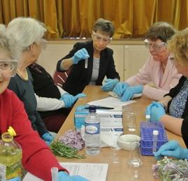 Vanillin solubility test (Warwickshire)