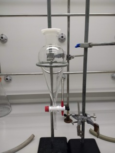 Separating funnel